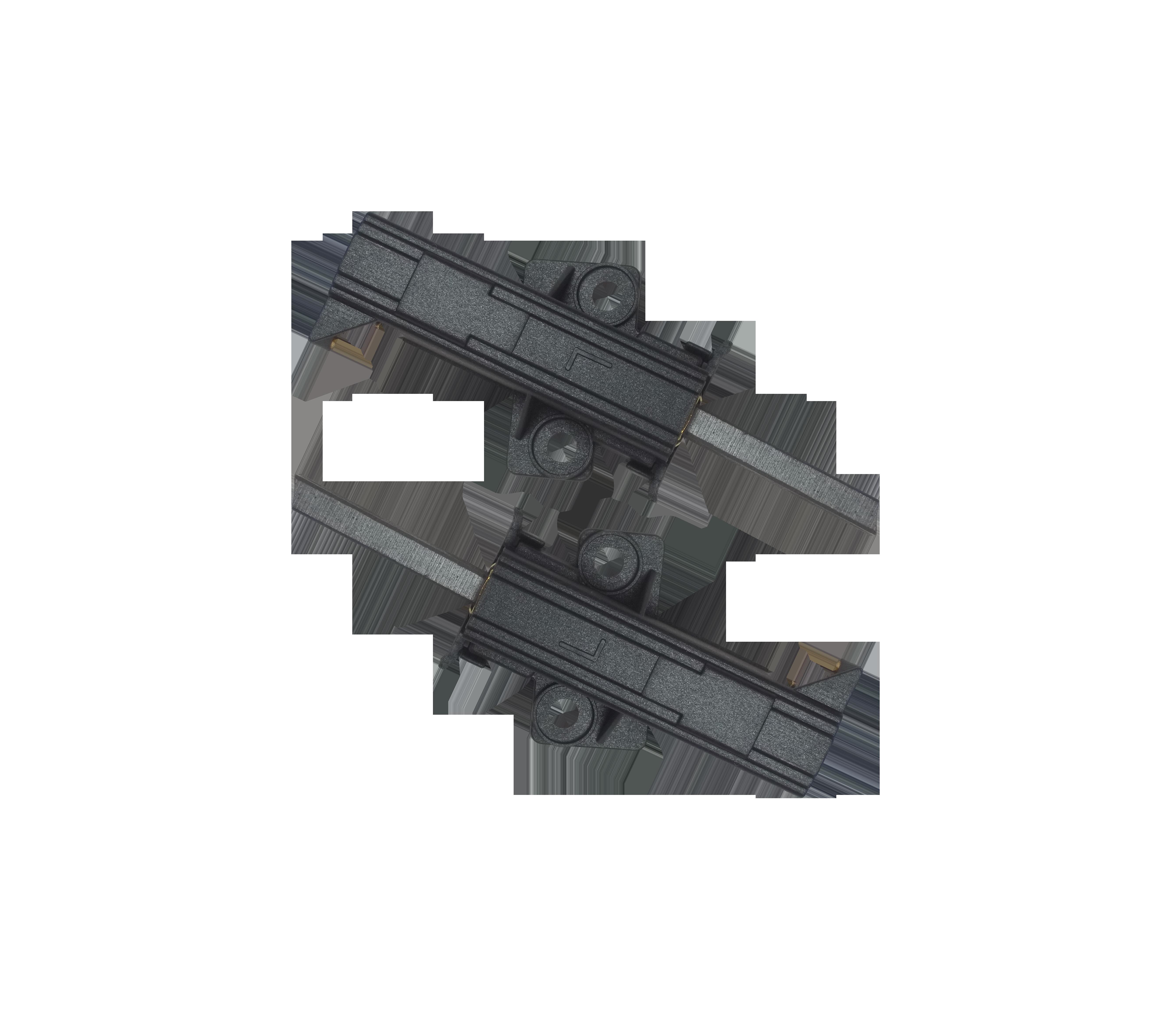 W 1206 W mit Halter L Kohlebürsten Motorkohlen für AEG LAVAMAT W 1200 WS